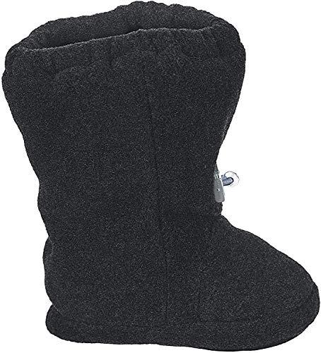 Sterntaler Baby-Schuh, Jungen Krabbelschuhe, Grau (Anthracite Mel. 592), 17/18 EU
