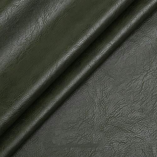 Venta de Polipiel por Metros Polipiel para Tapizar Cuero Sintético Imitación De Cuero Espesor 1mm Tela De Polipiel Tela De Imitación De Cuero para Tapizar Manualidades Cojines Ancho 138cm(Anch