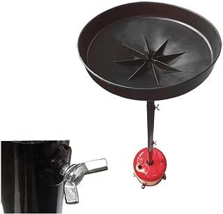 5 Gallon Oil Drain Portable Telescopic Dolly Oil Lift Drain Tank 67'' Lift Cap.