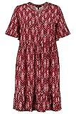 Ulla Popken Femme Grandes Tailles Robe Rouge vin foncé 60/62 748913 69-58+