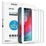 OMOTON [3 Stück] Schutzfolie für iPhone 11 Pro Max und