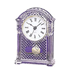 Smaill Pendulum Office Desk Crystal Quartz Clock