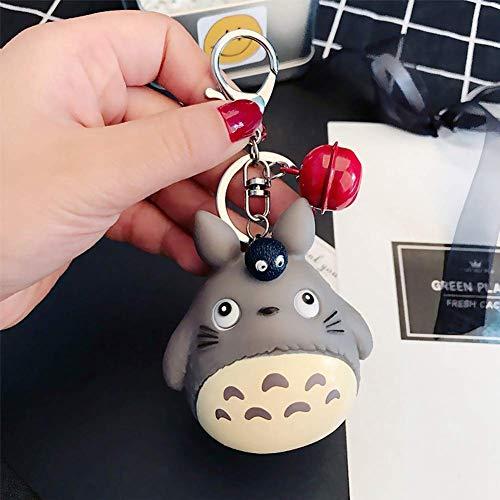 AMA-StarUK36 Totoro Puppe Cartoon Schlüsselanhänger Schnellverschluss Abnehmbare Schlüsselanhänger - 08