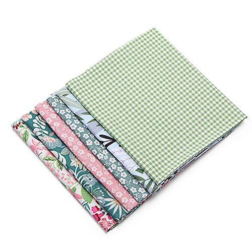 Fashion Apparel - Tela de algodón para manualidades, style1-25*25cm