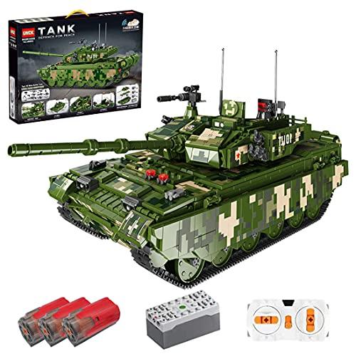 JOYFLY Juego de construcción de bloques de construcción, 2056 piezas, tanque teledirigido militar, para niños y adultos, coche teledirigido compatible con la técnica Lego