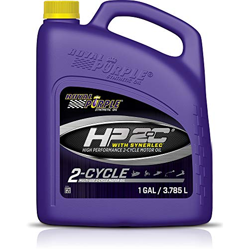 Royal Purple 04311 HP 2-C High Performance 2-Cycle Motor Oil with Synerlec, 1 Gallon (128 Ounces)