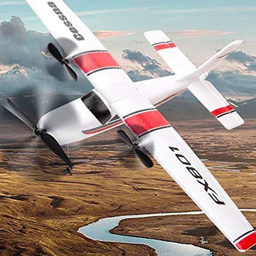 SSBH 2.4G control remoto planeador espuma EPP Avión de ala fija aviones de RC al aire libre avión que vuela juguetes for adultos de los niños muchachas de los muchachos del regalo de cumpleaños de Nav