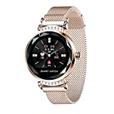 Huainiu H2 Smart Watch Impermeabile | Tracker Salute Femminile | Bracciale Bluetooth