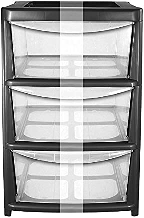 Fine Amazon Co Uk Plastic Shelving Storage Cabinets Racks Interior Design Ideas Lukepblogthenellocom