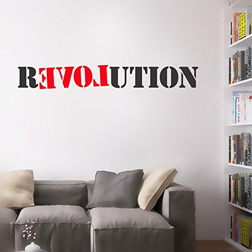 Stickers Muraux Vinyl Stickers Wall Home Decor Wall Decor Art Sticker Home Decals Revolution
