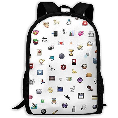 Zaino per adulti Unisex Modello Pic, borse per libri sportivi per la scuola, borse a tracolla per Computer portatili per esterno durevoli, zaini da viaggio leggeri