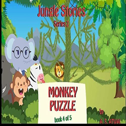 Monkey Puzzle audiobook cover art