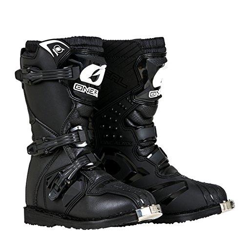 O'Neal - 0325-106 Boys New Logo Rider Boot (Black, Size 6)