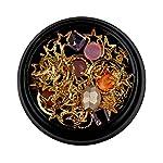 Beauty Shopping Thenxin 3D Mix-Shape Metal Nail Studs Big Gem Rhinestone Moon Star Punk Metal Rivet