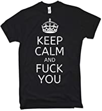 NG articlezz Keep Calm and Fuck You Camiseta, Distressed, Vintage, Talla S – XXL
