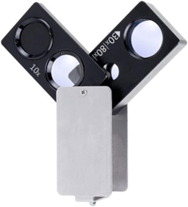 KONGZIR Illuminated Magnifiers with Led Popular brand in the world Identi 10x Discount is also underway 30x Light 50x