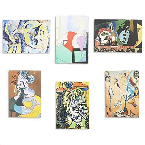 Picasso Grußkarten mit Umschlägen, 6 Designs, 36 Stück