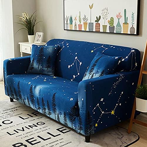 Fundas de sofá para sala de estar,Funda de sofá universal de gran elasticidad todo incluido,Funda de sofá de tela antideslizante Four Seasons,Para cojín de asiento de sofá N,2 seater