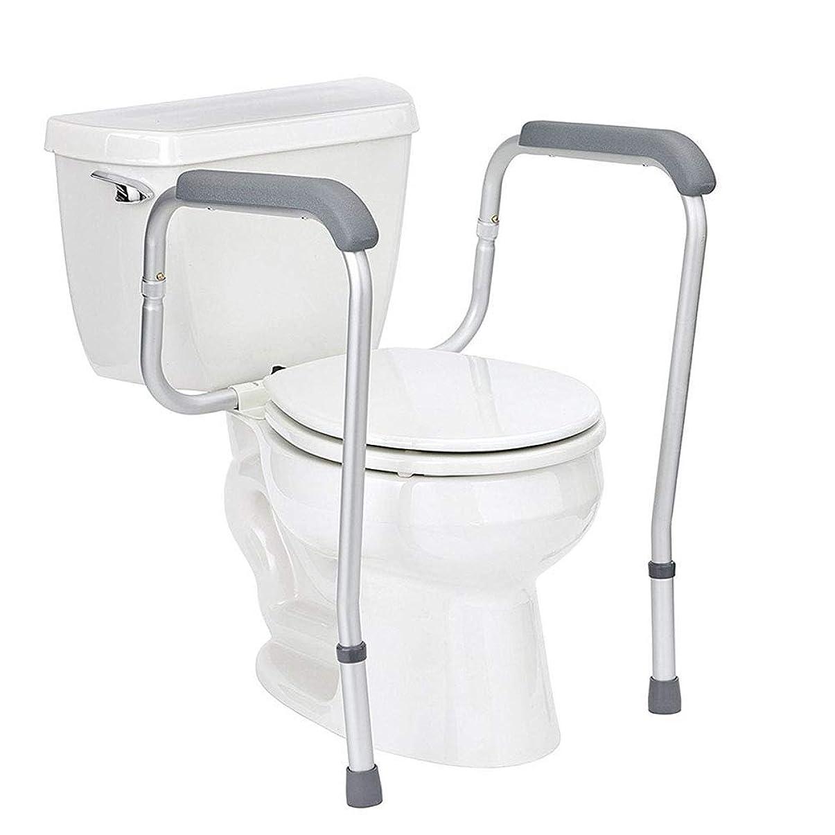 ドルライドパラダイストイレの安全レール、浴室の安全フレームの設置、高さ調節可能な脚、高齢者、ハンディキャップ、身体障害者、高齢者向け