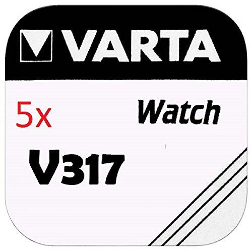 VARTA KNOPFZELLEN 317 SR516SW (5 Stück, V317)