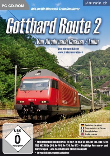 Train Simulator - Gotthard Route 2: Von Airolo nach Chiasso / Luino (Add-On)