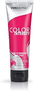 Joico Intensity Semi-Permanent Hair Color, Hot Pink, 4 Ounce