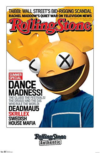 Trends International Rolling Stone Magazine - Deadmau5 Wall Poster, 22.375