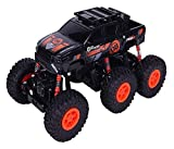 Nixi888 Buggy - Mando a distancia inalámbrico para niños y niñas, 2,4 GHz de energía eléctrica para (color: naranja, tamaño: 2 baterías)