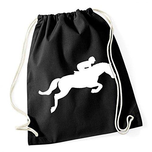 Certified Freak Horse Jumper Gymsack Black