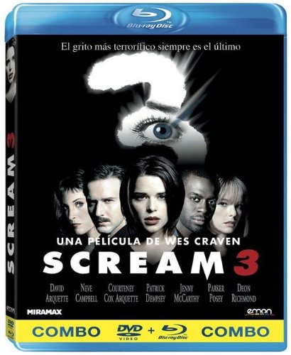 Scream 3 (Dvd + Bd) [Dvd] (2013) David Arquette; Wes Craven