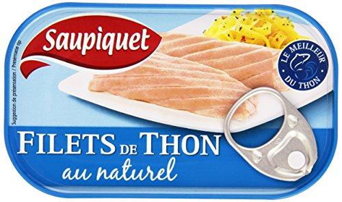Saupiquet Conserve de Thon au Naturel La Boîte de...