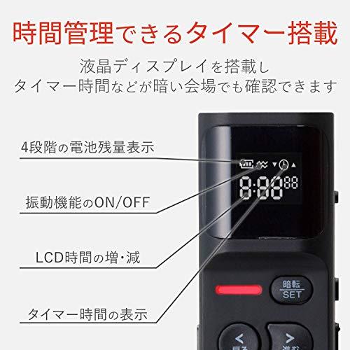 エレコムプレゼンタータイマー付赤色LEDブラックELP-RL13PMBK