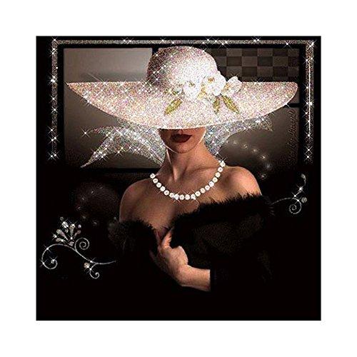 DOMYBEST Beauté Dame 5D Diamant DIY Peinture Kit Décoration de la Maison Artisanat