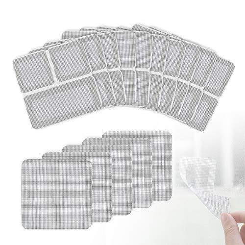 Lenink 15Pcs Window and Door Screen Repair Patch kit, Window Screen Mesh Repair Tape New York