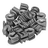 Manchons à œillets de tête de coupe Grands outils de jardin Superbe artisanat Manchons à œillets de remplacement haute dureté Meilleure performance pour tondeuse à gazon Stihl 25-2