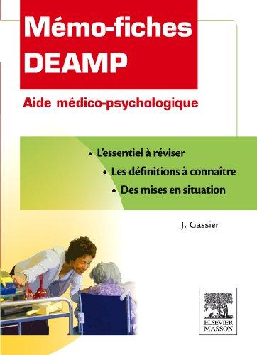 Mémo-fiches DEAMP - Diplôme d'Etat d'aide médico-psychologique