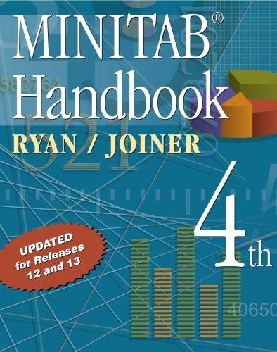 Minitab Handbook