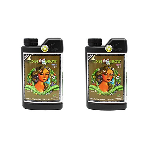 Advanced Nutrients 8550-14AB pH Perfect Sensi Grow Coco Part A+B, 1 Liter, Brown/A (2pks)