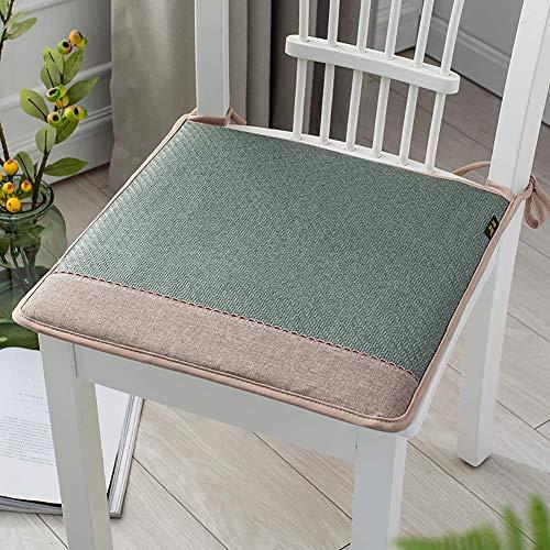 Aocean Comfy Chair Pads Seat Cushions,Breathable Memory Cotton Rattan Seat Cushion,Non Slip Soft Student Stool Chair Cushion Office Chairs F 40x40cm