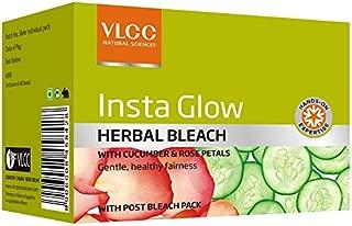 VLCC Insta Glow Herbal Bleach Salon, 342gm
