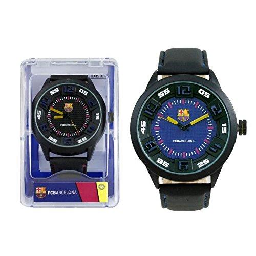 Seva Import Reloj Pulsera Caballero Cuadros 732863, Negro, Talla Única
