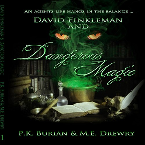 David Finkleman and Dangerous Magic audiobook cover art