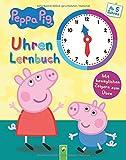 Peppa Pig Uhrenlernbuch: Mit beweglichen Zeigern zum Üben -