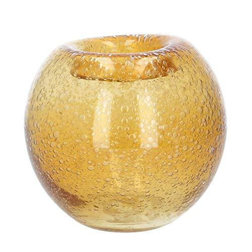 Nordal vaas bloemenvaas kleur barnsteen maat S 16 cm
