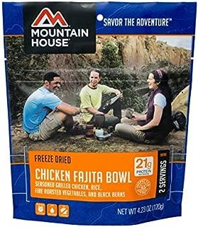 Mountain House Chicken Fajita Bowl 3-Pack