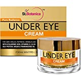 StBotanica Pure Radiance Under Eye Cream - For Dark Circles, Puffiness, Wrinkles