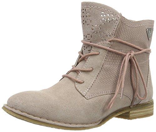 bugatti Damen J4931PR3 Kurzschaft Stiefel, Pink (rosé 350), 41 EU