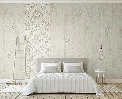Wall Mural Wallpaper 3D Embossed Plaster Lines Living Room Bedroom Tv Background Wallpapers Decoration Art*430cm×300cm