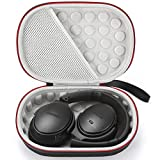 Hard Case for Bose QuietComfort 35 (Series II), QC35, QC25, QC15 Wireless Headphones Accessories. Travel Carrying Storage Bag - Black