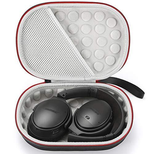 Hard Case for Bose QuietComfort 35 (Series II), QC35, QC25, QC15 Wireless Headphones Accessories. Travel Carrying Storage Bag - Black